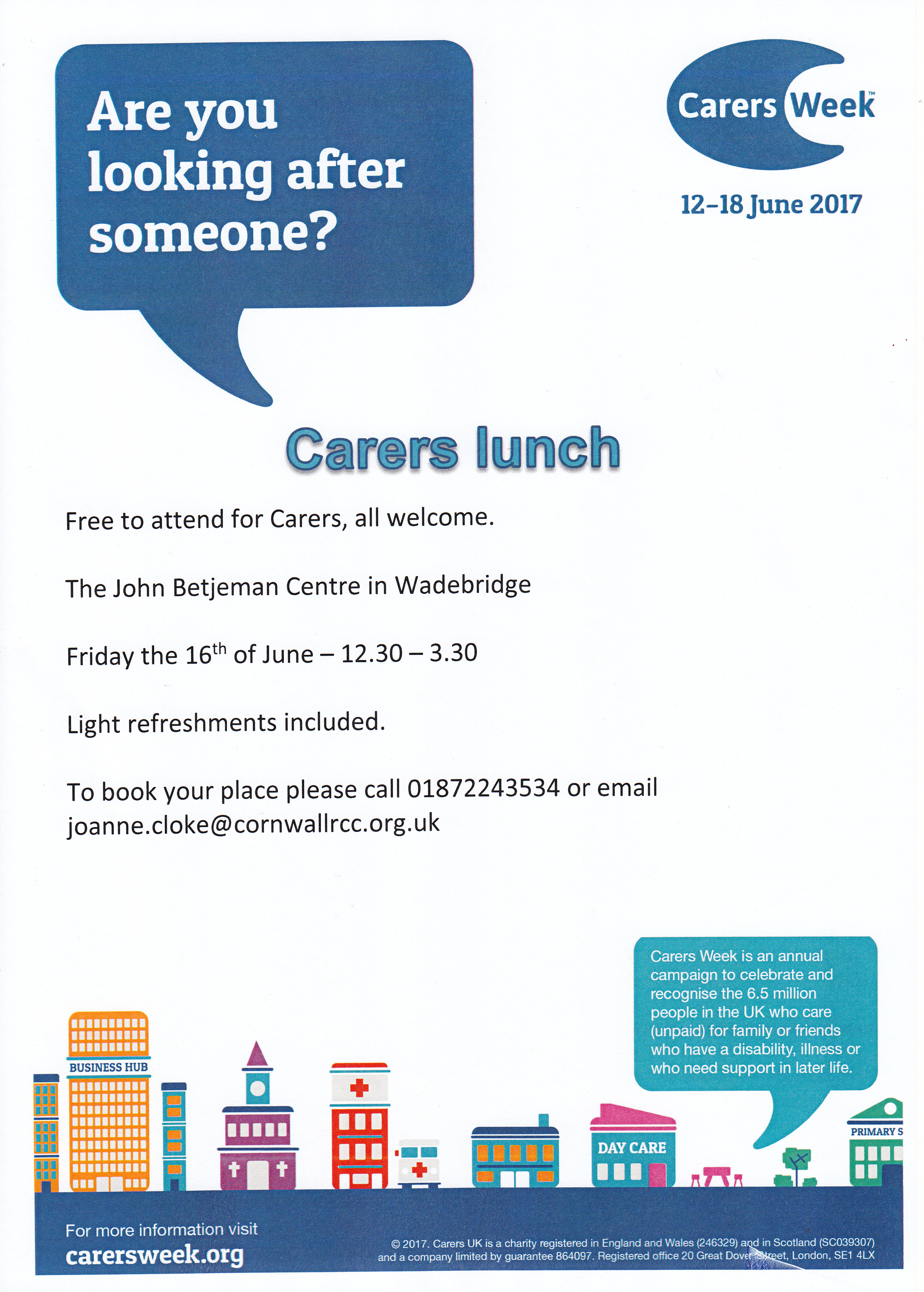 Carers Week Lunch