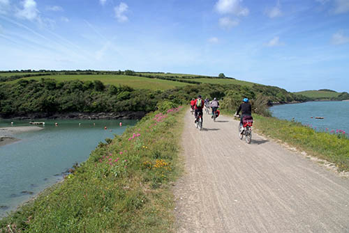Cycling to Padstow